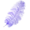 "Ostrich Wing Feathers 18-24"" Premium Qlty 1/2 Lb Lilac"